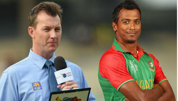 Hold your head high: Brett Lee to Rubel