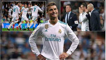 Late Ronaldo deflection rescues Real Madrid