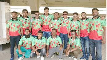 ওয়ালটনের পৃষ্ঠপোষকতায় ভারত গেল বাংলাদেশ বেসবল দল