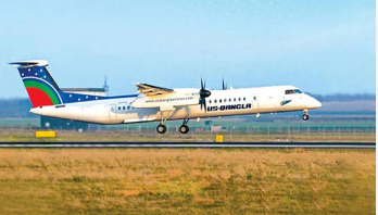 US-Bangla aircraft takes off again after emergency landing