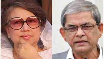 Fakhrul sits with Khaleda Zia this noon