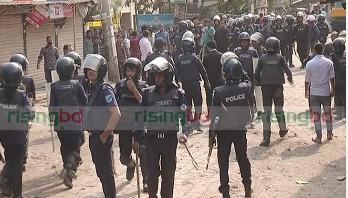 N'ganj workers stage strike demanding increase of wage