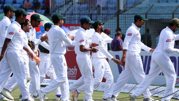 Bangladesh wins first Test against West Indies