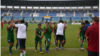 Bangladesh play consolation 1-1 draw with Nepal