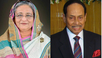 Ershad writes to PM Hasina over seat sharing