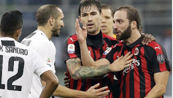 Higuain banned for two matches