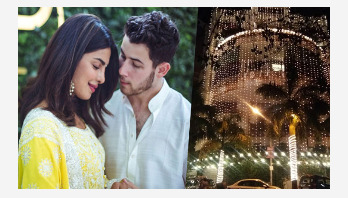 Priyanka Chopra's home lit up ahead of her wedding