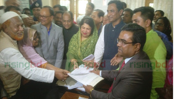 PM, Speaker submit nomination papers for Rangpur-6