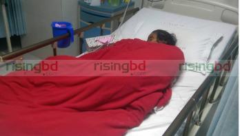 Kangalini Sufia in critical condition