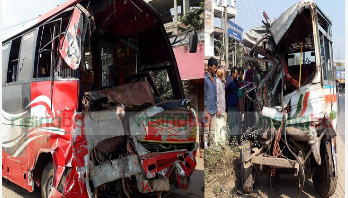 3 killed as 2 buses collide in Narsingdi