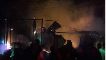 Fire guts 3 cotton factories in Gazipur