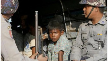 Four Rohingyas shot by Myanmar police