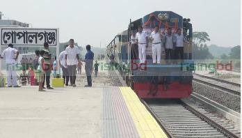 Railway line in Gopalganj awaits inauguration
