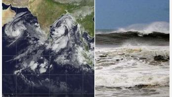 Cyclone 'Titli', signal No 2 at coasts