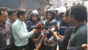 Two female 'militants' surrender