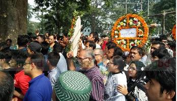 Last tributes paid to Ayub Bachchu