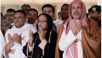 PM returns home from Saudi Arabia