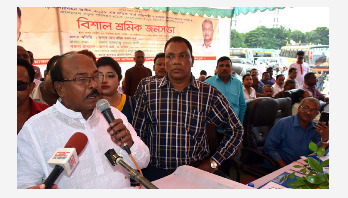 Rangpur transport workers call 48-hour work abstention