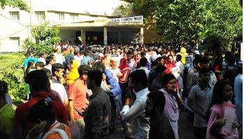 রাবিতে আজ ভর্তি পরীক্ষা শুরু, মুখরিত বিশ্ববিদ্যালয় প্রাঙ্গণ