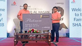 Shakib new Brand Ambassador of Le Méridien Dhaka