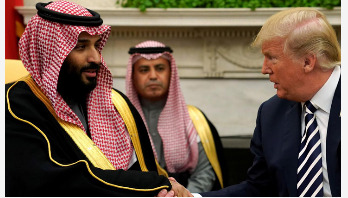 Saudi crown prince loves working with Trump