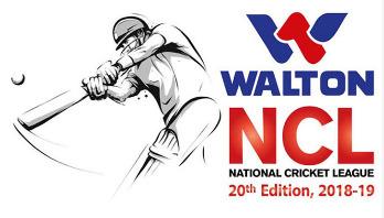 ওয়ালটন জাতীয় ক্রিকেট লিগে প্রথম দিনের খেলা শুরু