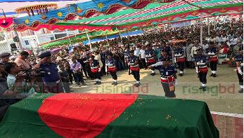 শ্রদ্ধা-ভালোবাসায় শেলাবুনিয়ায় শেষ আশ্রয়ে ফাদার রিগন