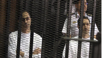 Ex-president Mubarak's sons arrested