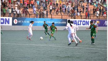 Bangladesh girls beat UAE by 7-0 goals