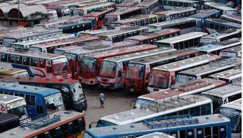 Bus service from Mohakhali Terminal suspended