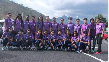 Bangladesh U-18 Women's Football team reaches Bhutan