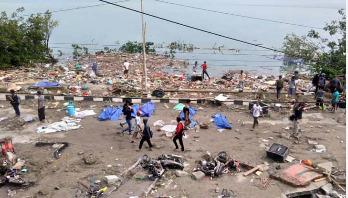384 dead in Indonesia earthquake