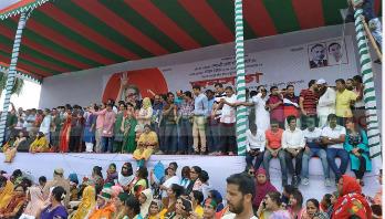 BNP keeps Khaleda Zia as rally chief