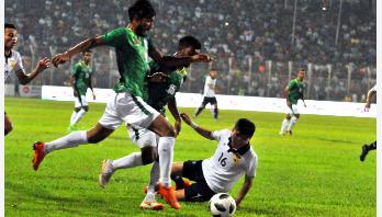 Bangladesh makes good start beating Laos 1-0