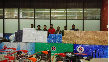 Illegal cigarettes, medicines worth Tk 2cr seized
