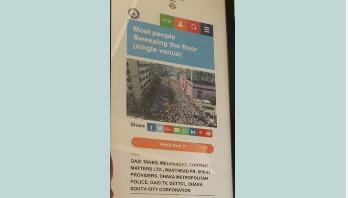 গিনেস বুকে 'ঢাকা পরিচ্ছন্নতা অভিযান'