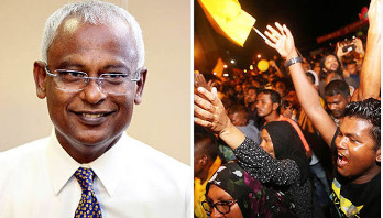 Opposition candidate Solih wins Maldives' presidential poll