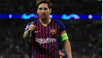 Messi wants 3rd Barcelona treble