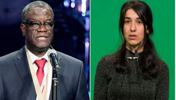 Nobel Peace Prize awarded to Denis Mukwege, Nadia Murad