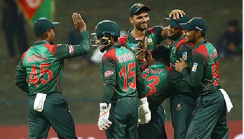 Bangladesh beat Afghanistan by 3 runs in last ball thriller