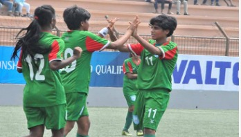Bangladesh girls beat Vietnam to reach 2nd round
