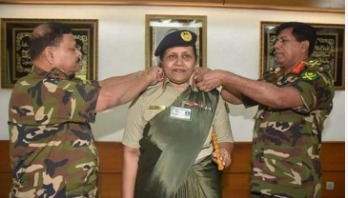 Army finds first female major general
