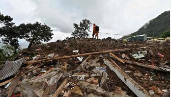 17 killed in Colombia landslide