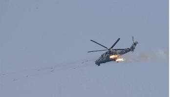 'Helicopter attack' kills 5 Rohingyas in Myanmar's Rakhaine