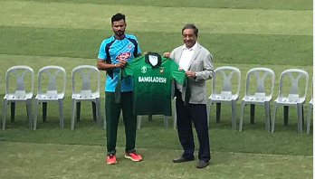 Bangladesh's World Cup 2019 jersey unveiled