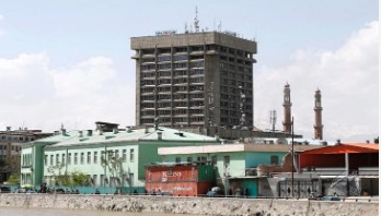 Explosion and gunfire near Afghan Info ministry building