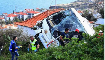 At least 29 killed on tourist bus in Madeira