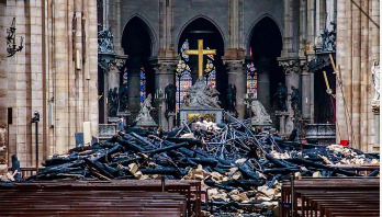 New cathedral will be more beautiful: Macron