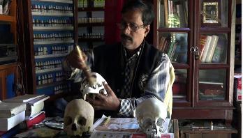 শহীদ বন্ধুর মাথার খুলি ৪৮ বছর আগলে রেখেছেন চান্দু