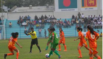 Bangladesh storm into semis beating Bhutan 2-0